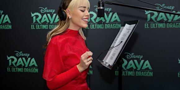 1. Danna Paola participa en la banda sonora de 'Raya y el último dragón', la nueva película de Disney