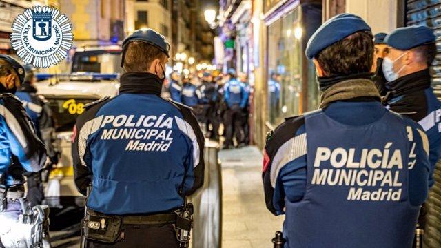 Archivo - Imagen de recurso de agentes de la Policía Municipal de Madrid.