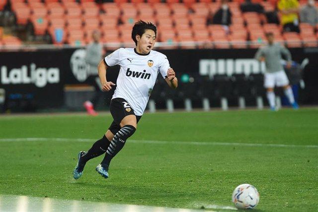 Kang-In Lee, el más destacado del Valencia CF
