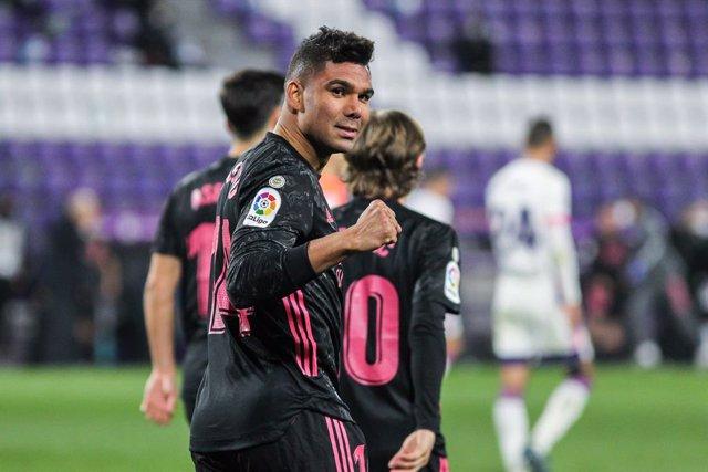 Casemiro, Real Valladolid - Real Madrid