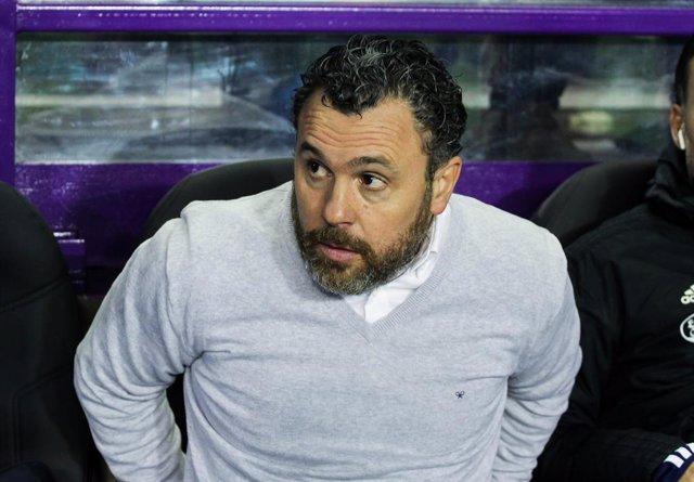 Archivo - Sergio González, entrenador del Real Valladolid