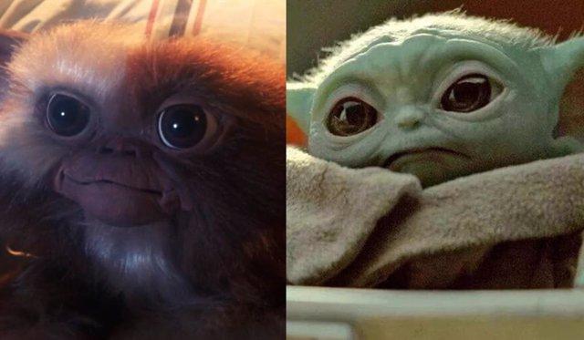 Por qué Gizmo es más mono que Baby Yoda