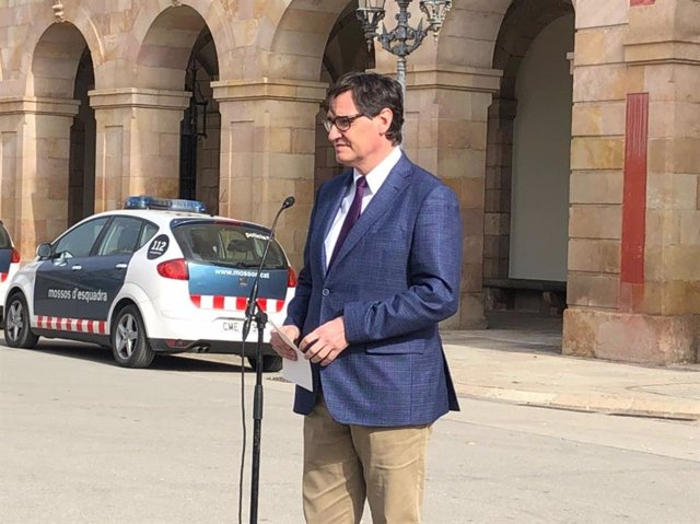 El candidat del PSC a la Presidència de la Generalitat, Salvador Illa