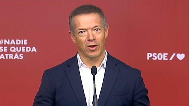 El portaveu del Grup Parlamentari Socialista al Senat, Ander Gil