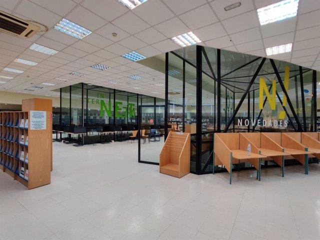Archivo - Reforma de la biblioteca La Chata
