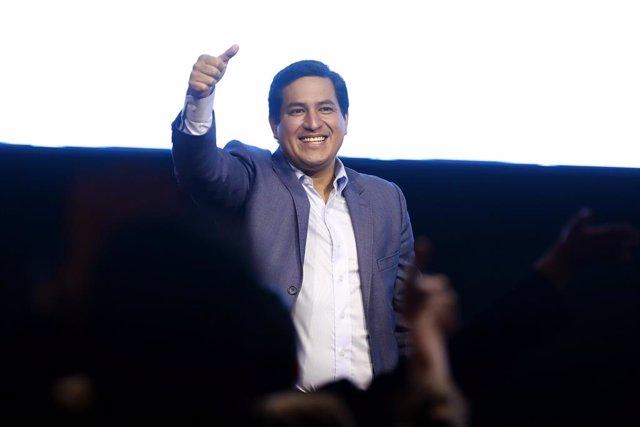 El candidat presidencial equatorià Andrés Arauz