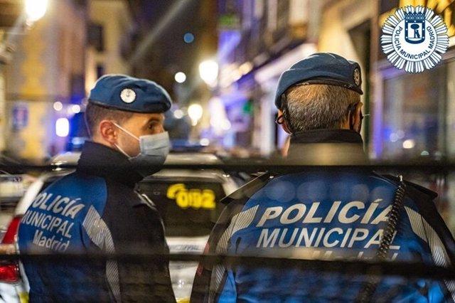 Agents de Policia Municipal de Madrid.