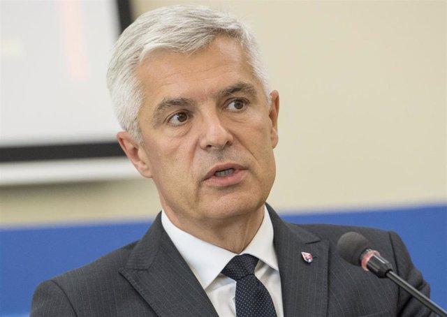 Archivo - El ministro de Exteriores de Eslovaquia, Ivan Korcok