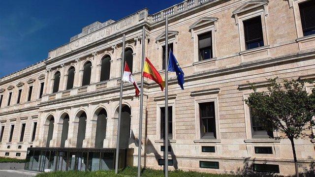 Archivo - Sede del Tribunal Superior de Justicia de Castilla y León, en Burgos.