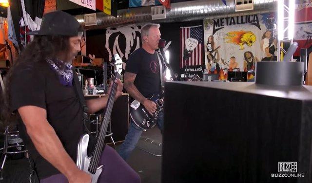 Metallica en el evento Blizzconline 2021