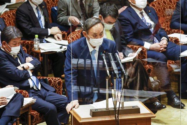 El primer ministro de Japón, Yoshihide Suga.