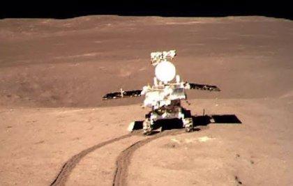 El rover chino en la cara oculta de la Luna supera los 650 metros