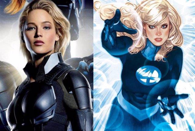 Jennifer Lawrence no será Sue Storm en Los Cuatro Fantásticos de Marvel Studios