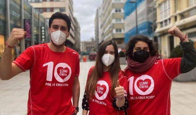 Más de 15.500 personas de 33 países corren para combatir la emergencia educativa generada por la pandemia
