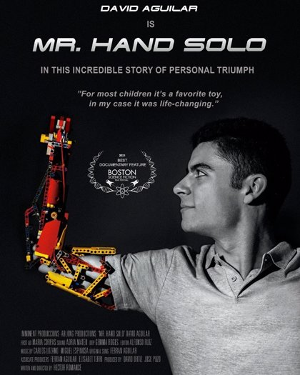 'Mr. Hand Solo', Millor Documental del festival Boston Science Fiction Film