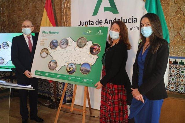 Carmen Crespo presenta el Plan Itínere