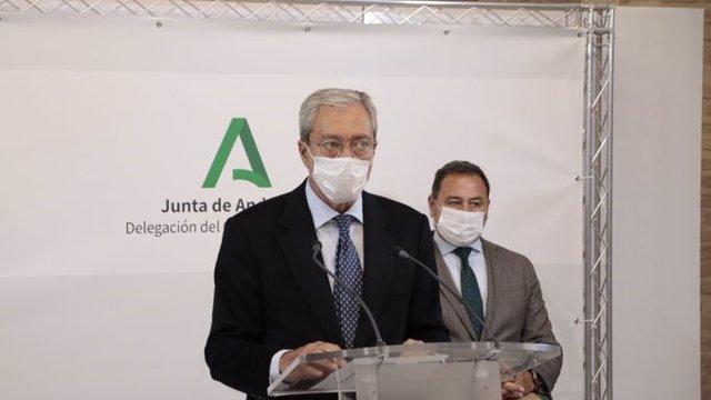 Archivo - El consejero de Transformación Económica, Rogelio Velasco, en una imagen de archivo.