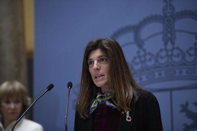 Archivo - La nueva secretaria de Estado de Cooperación Internacional, Ángeles Moreno Bau