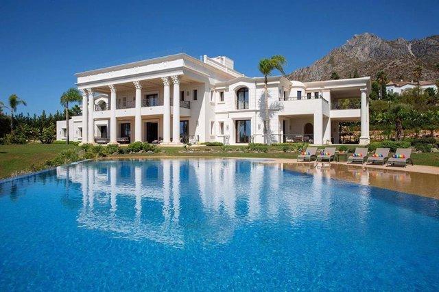 Una de las villas más lujosas de Marbella valorada en 40 millones