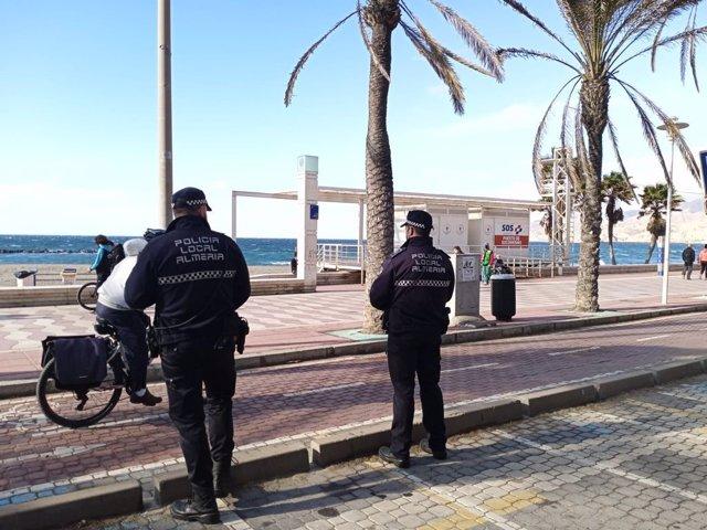 Agentes de Policía Local de Almería