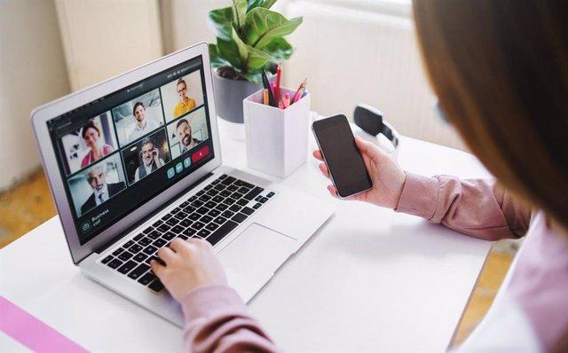 Jornada digital, jornada online., teletrabajo.