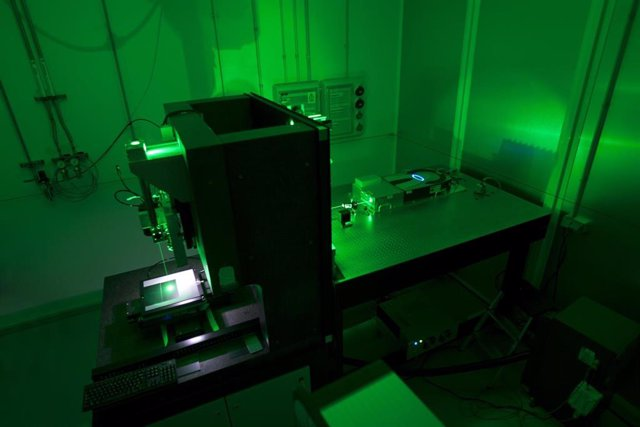 Archivo - Imagen del proyecto de tecnologías láser