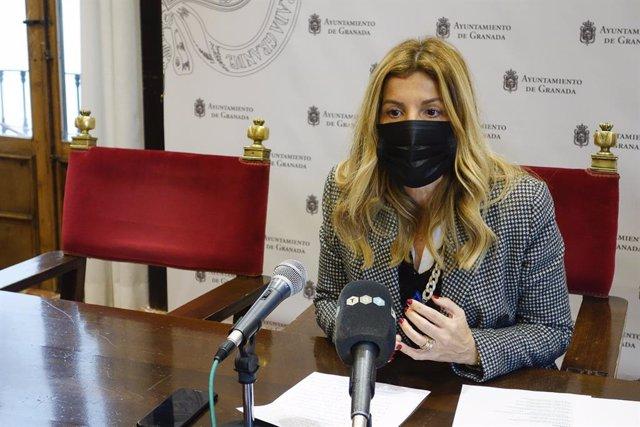La concejal de Patrimonio de Granada, Eva Martín