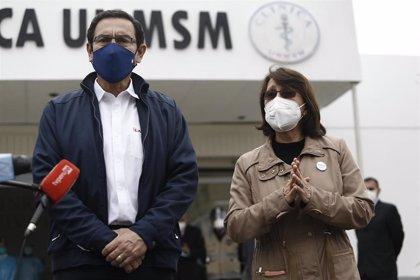 Perú.- El Congreso de Perú aprueba tramitar las denuncias contra Vizcarra y Mazzetti por su vacunación paralela