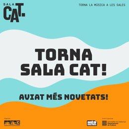 La Asociación de Salas de Conciertos de Catalunya (ASACC) y la Conselleria de Cultura de la Generalitat han impulsado la segunda edición de la iniciativa digital Sala CAT