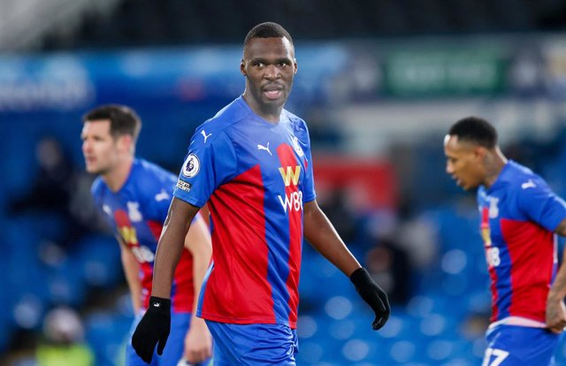 Crystal Palace forward Christian Benteke during the English championship Premier League football match between Leeds United and Crystal Palace on February 8, 2021 at Elland Road in Leeds, England - Photo Simon Davies / ProSportsImages / DPPI