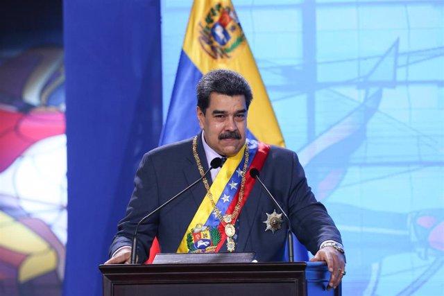 Archivo - Imagen de archivo de Nicolás Maduro.