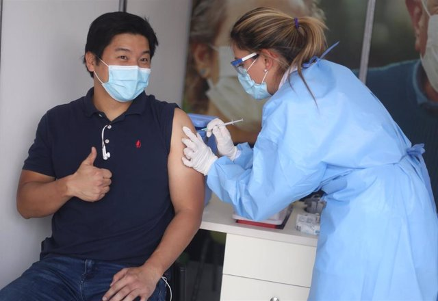 Vacunación contra la COVID-19 en Colombia.