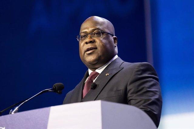 Archivo - El presidente de República Democrática del Congo (RDC9, Félix Tshisekedi