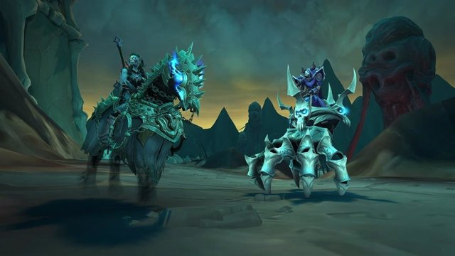World of Warcraft Shadwlands: Cadenas de dominación.