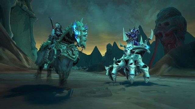 World of Warcraft Shadwlands: Cadenas de dominación.