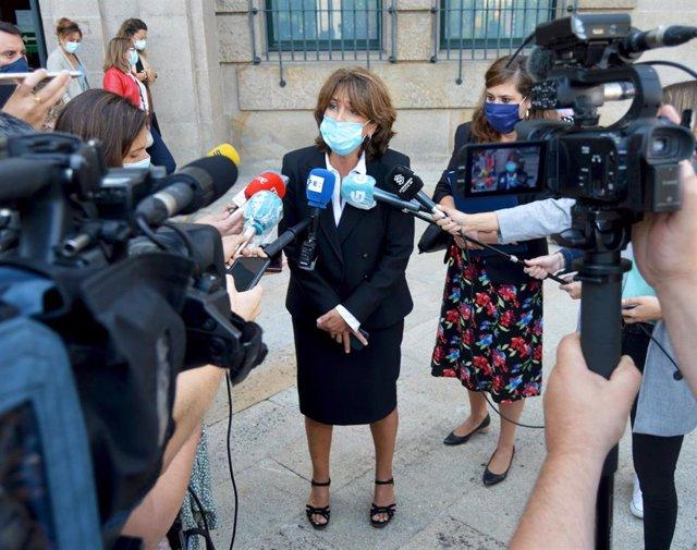 Archivo - La fiscal general del Estado, Dolores Delgado