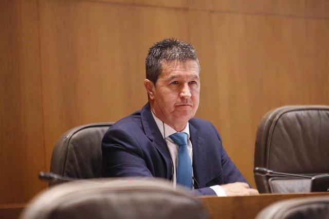 Archivo - Foto de archivo del diputado del PP en las Cortes de Aragón, Antonio Romero.