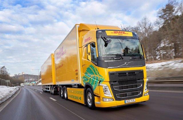 Vehículo eléctrico de Volvo Trucks.