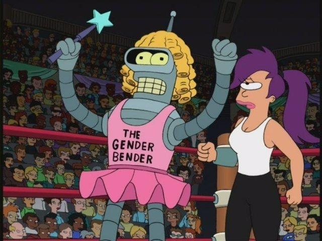 Futurama llega a Disney+ Eso convierte a Bender en una princesa Disney