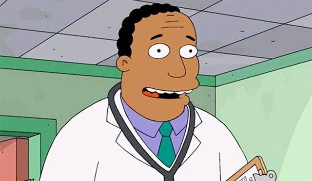 Los Simpson reemplaza al doblador del doctor Hibbert por un actor de raza negra