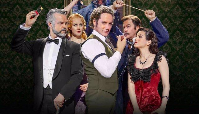 El Teatro Apolo de Barcelona reabre con el musical 'Quén mató a Sherlock Holmes?'