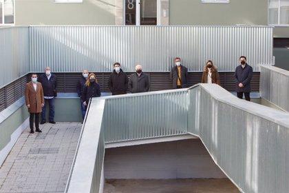 Eficiencia energética.- El Gobierno de Navarra mejora la eficiencia energética de 167 viviendas en el barrio tudelano de Lourdes