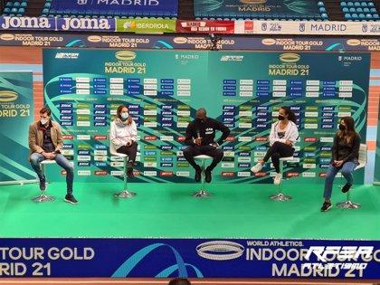 Gallur apunta a nuevos récord mundiales en la final del World Athletics Indoor Tour Gold