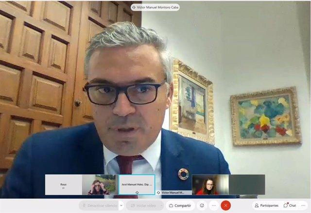 El delegado de Programas Europeos y Administración Electrónica de la Diputación de Córdoba, Víctor Montoro