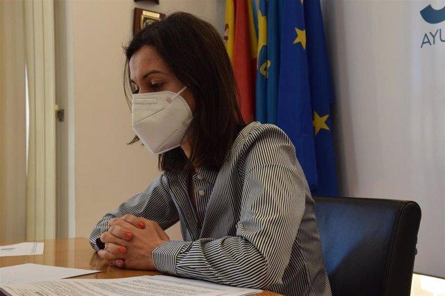 La concejala de Desarrollo y Promoción Económica, Patrimonio, Servicios Públicos Digitales, e Innovación, Aida Nuño Palacio.