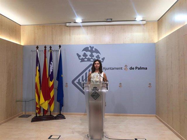 Archivo - La regidora de Modelo de Ciudad, Vivienda Digna y Sostenibilidad del Ayuntamiento de Palma, Neus Truyol