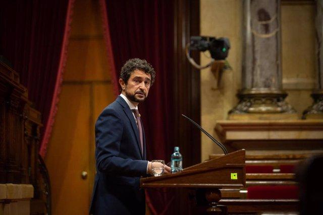 Archivo - Arxiu - El conseller de Territori i Sostenibilitat de la Generalitat, Damià Calvet.