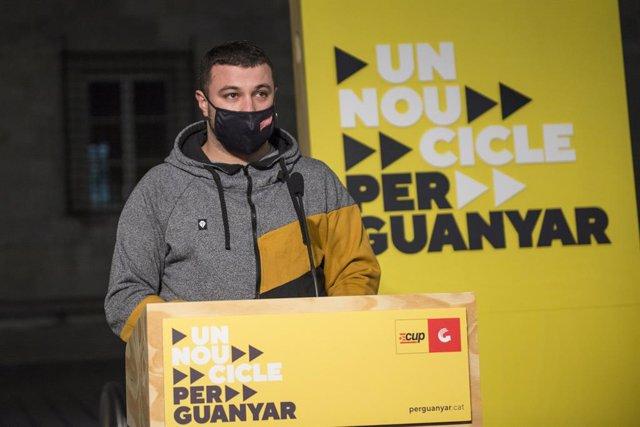 El número dos de la candidatura per Tarragona, Edgar Fernández, en una imatge d'arxiu