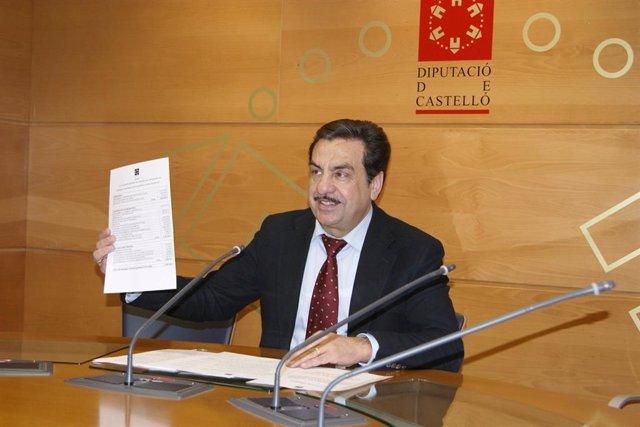 Archivo - Imagen de archivo de Francisco Martínez, exalcalde de Vall d'Alba y exvicepresidente de la Diputación