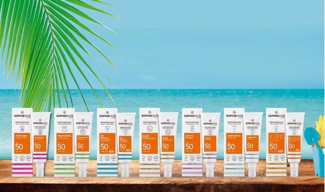 Archivo - SOPHIESKIN by Sesderma es la nueva marca cosmética de Gran Consumo que se lanzará en España el próximo mes de marzo
